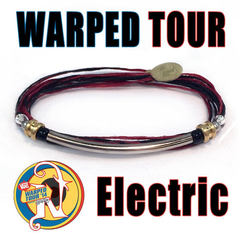 Electric NTIO Bracelet by Vans Warped Tour