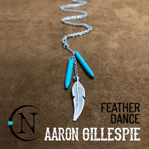 Feather Dance NTIO Necklace by Aaron Gillespie