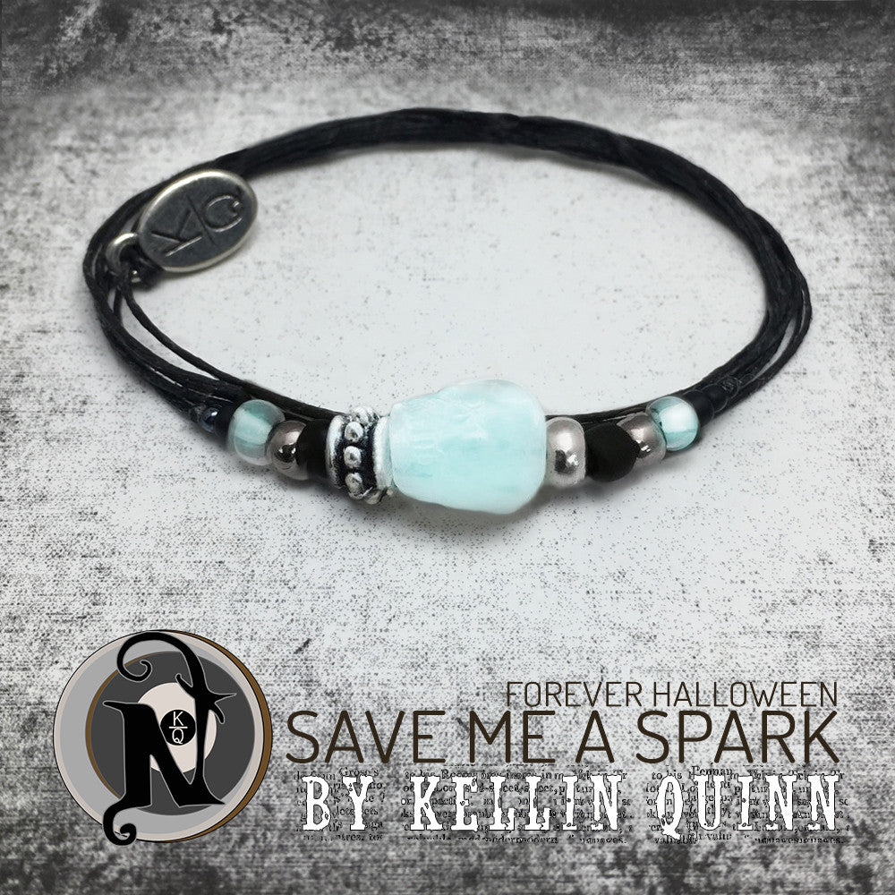 Glow in the Dark Save Me a Spark NTIO Bracelet by Kellin Quinn