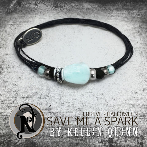 Glow in the Dark Save Me a Spark NTIO Glow-in-the-Dark Bracelet by Kellin Quinn