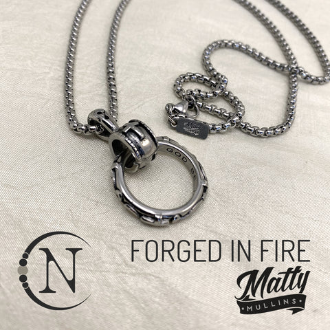 Forged In Fire NTIO Necklace by Matty Mullins