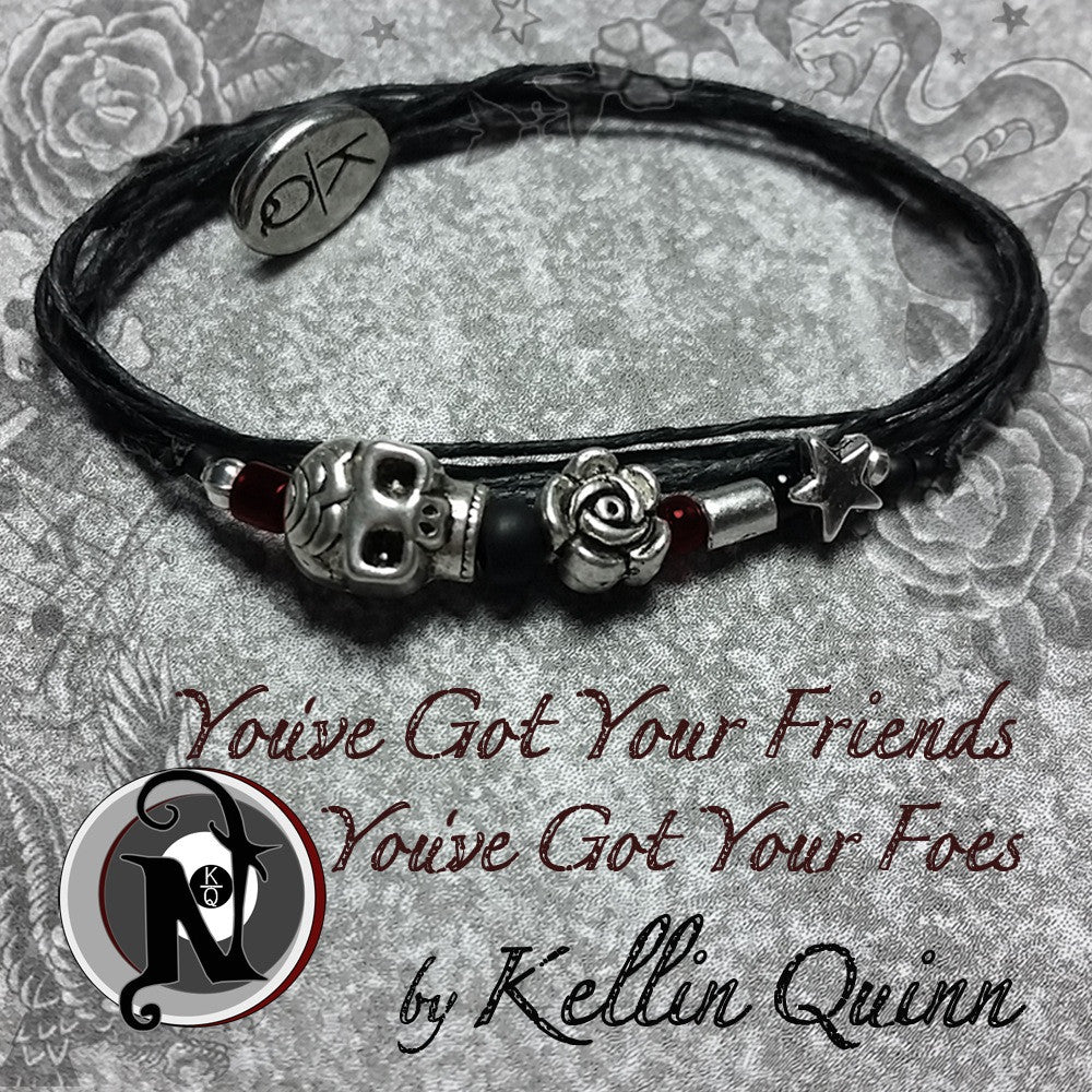 You've Got Your Friends and You've Got Your Foes NTIO Bracelet by Kellin Quinn