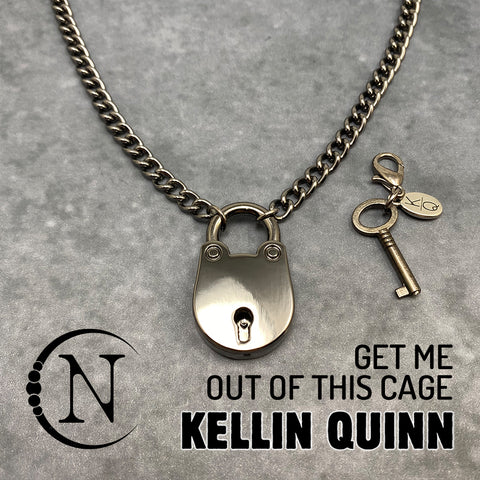 Get Me Out Of This Cage NTIO Necklace by Kellin Quinn