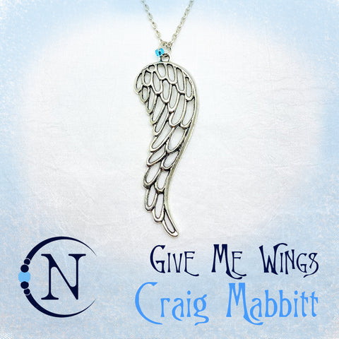 Give Me Wings Necklace by Craig Mabbitt ~ Holiday Angels