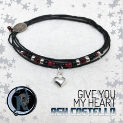 Give You My Heart Sterling Silver NTIO Bracelet By Ash Costello