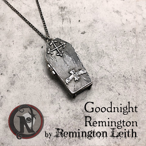 Goodnight Remington NTIO Necklace by Remington Leith ~ Limited Edition ~~ Alt Press Alumni