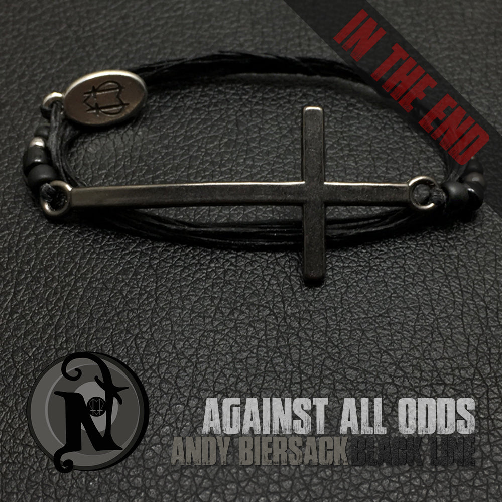 Gunmetal Against All Odds NTIO Bracelet by Andy Biersack