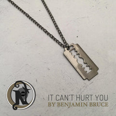 Gunmetal Necklace It Can't Hurt You by Ben Bruce