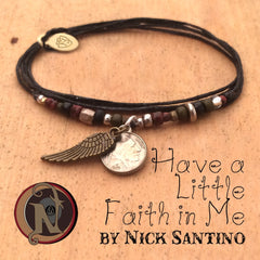 Have a Little Faith in Me Limited Edition Vintage NTIO Bracelet by Nick Santino