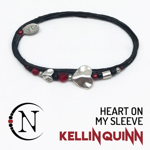 Heart On My Sleeve NTIO Bracelet by Kellin Quinn