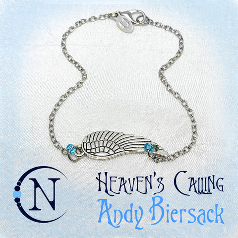 Heavens Calling NTIO Bracelet by Andy Biersack ~ Holiday Angels 2019