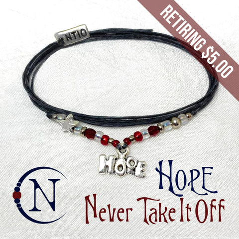 Hope Bracelet by Never Take It Off ~ 60% OFF with Code