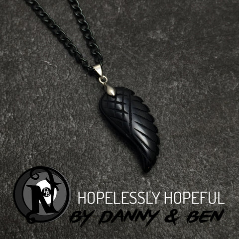 Black Hopelessly Hopeful NTIO Necklace Danny Worsnop & Ben Bruce
