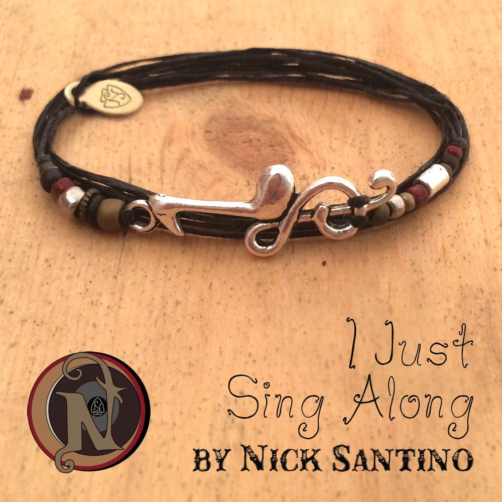 I Just Sing Along NTIO bracelet by Nick Santino