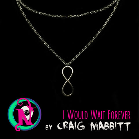 NTIO Necklace I Would Wait Forever by Craig Mabbit