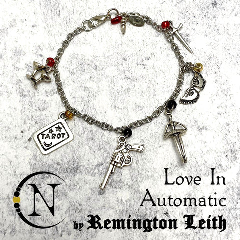 Love In Automatic NTIO Charm Bracelet/Choker by Remington Leith