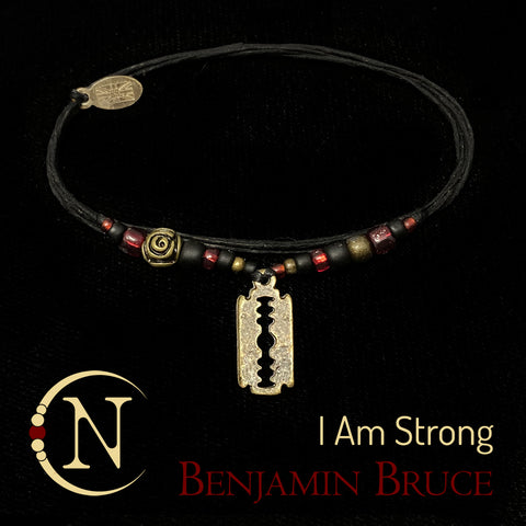 I Am Strong NTIO Bracelet by Benjamin Bruce