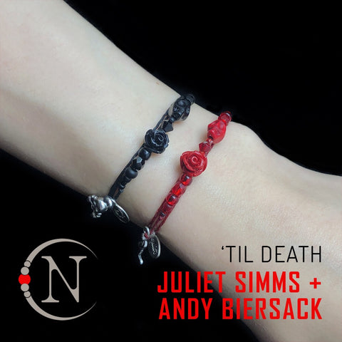 Until Death 2 Bracelet Bundle by Juliet Simms and Andy Biersack
