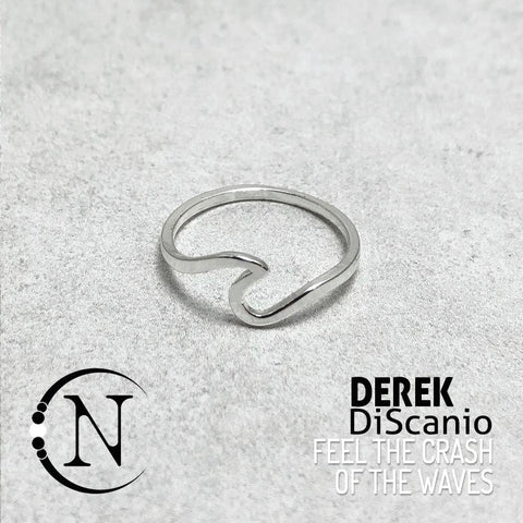 Ring ~ Feel the Crash of the Waves by Derek DiScanio