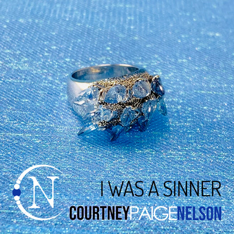 I Was A Sinner NTIO Ring by Courtney Paige Nelson