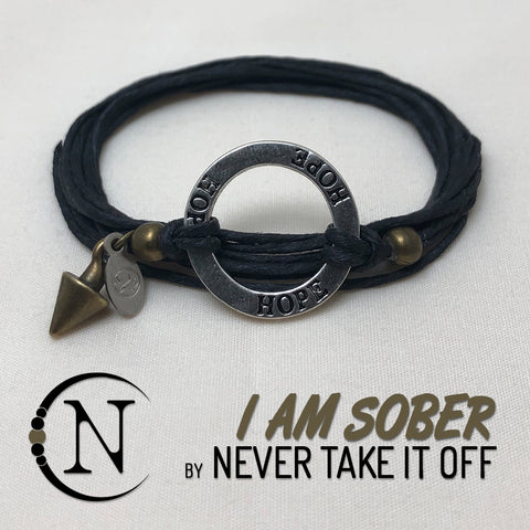 I Am Sober Necklace By Never Take It Off