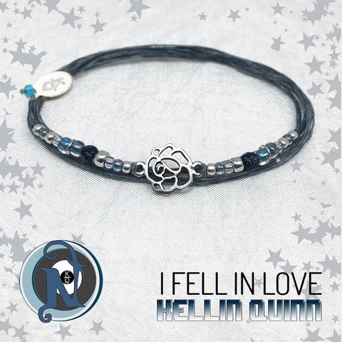 I Fell In Love Sterling Silver NTIO Bracelet By Kellin Quinn