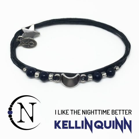 I Like The Nighttime Better NTIO Bracelet by Kellin Quinn
