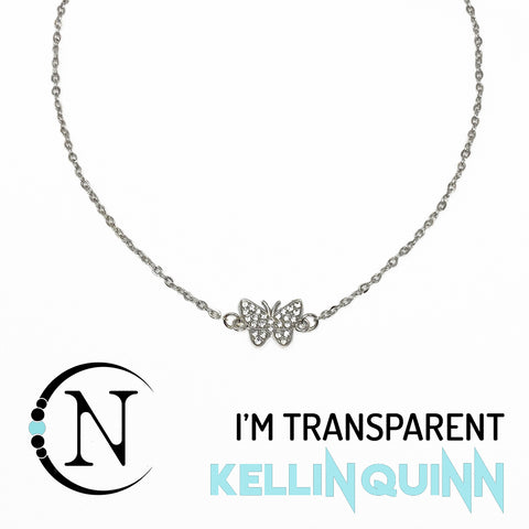 I'm Transparent NTIO Choker By Kellin Quinn ~ Only 2 More!