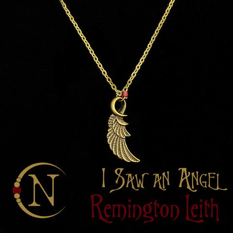 I Saw An Angel Cry NTIO Necklace by Remington Leith ~ Holiday Angels 2019