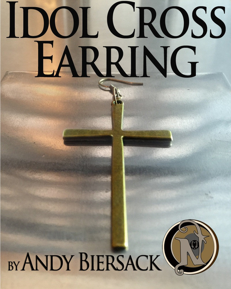 Idol Cross Single Earring by Andy Biersack