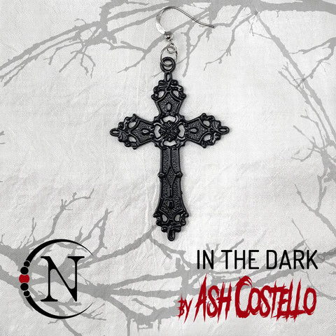 In The Dark NTIO Earring by Ash Costello