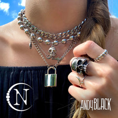 Best Friends Forever NTIO Ring by Andy Biersack