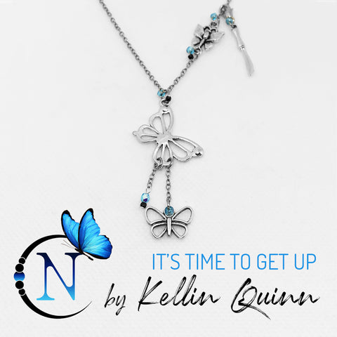 It's Time To Get Up NTIO Necklace By Kellin Quinn ~ Only 6 More