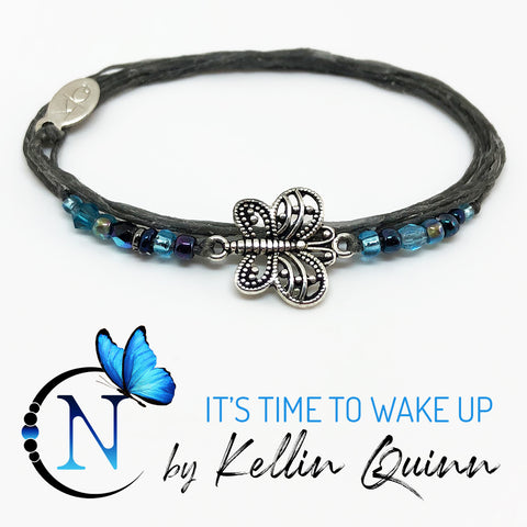 It's Time To Wake Up NTIO Bracelet By Kellin Quinn ~ Only 1 More