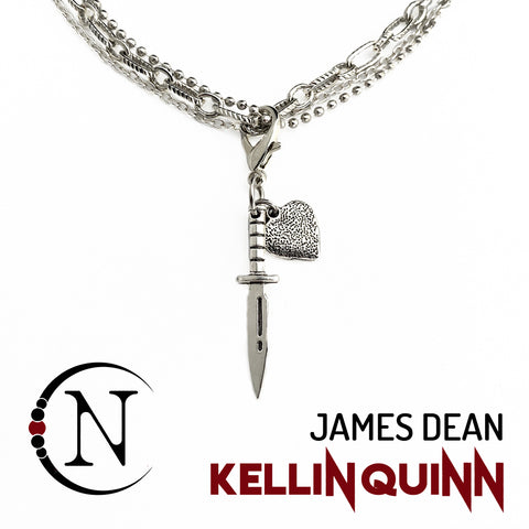 Necklace ~ James Dean by Kellin Quinn ~ Valentine's Edition