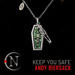 Keep You Safe NTIO Necklace by Andy Biersack ~ Limited 40