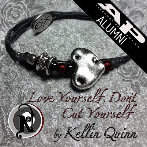 Love Yourself Don't Cut Yourself NTIO Bracelet by Kellin Quinn ~ Alt Press Alumni