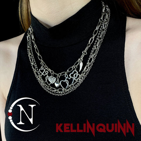 Necklace Bundle ~ James Dean & Audrey Hepburn NTIO by Kellin Quinn ~ Valentine's Edition