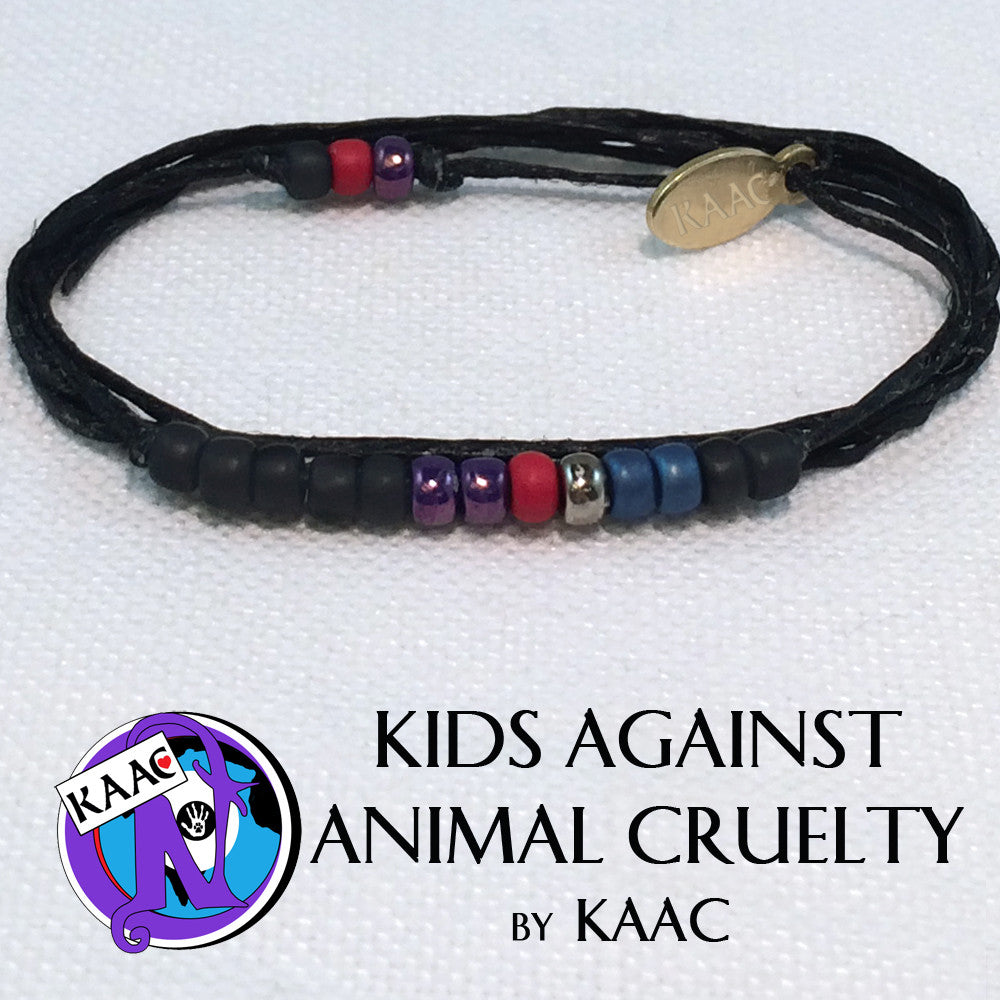 Kids Against Animal Cruelty NTIO Bracelet