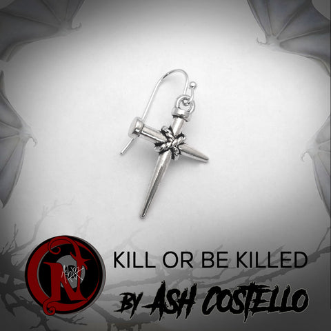 Earring Kill or Be Killed by Ash Costello