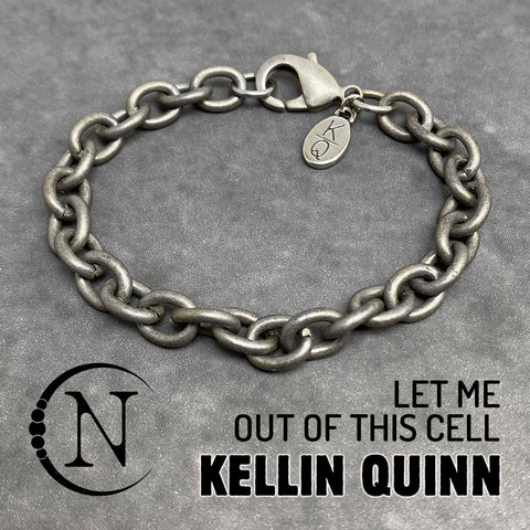 Chain Bracelet ~ Let Me Out Of This Cell by Kellin Quinn