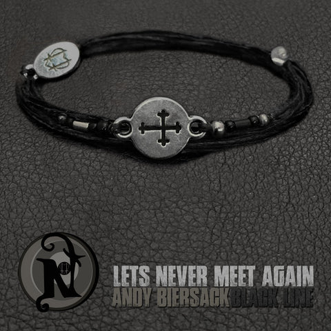 Let's Never Meet Again Bracelet by Andy Biersack