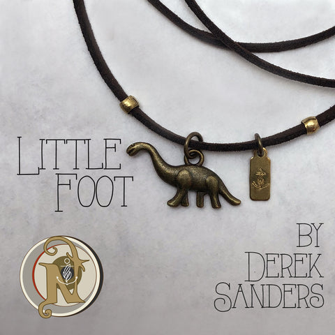 Little Foot Choker/Necklace By Derek Sanders