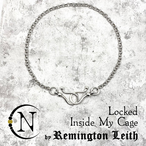Necklace Locked Inside My Cage NTIO Necklace by Remington Leith