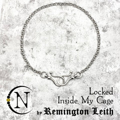 Necklace ~ Locked Inside My Cage by Remington Leith