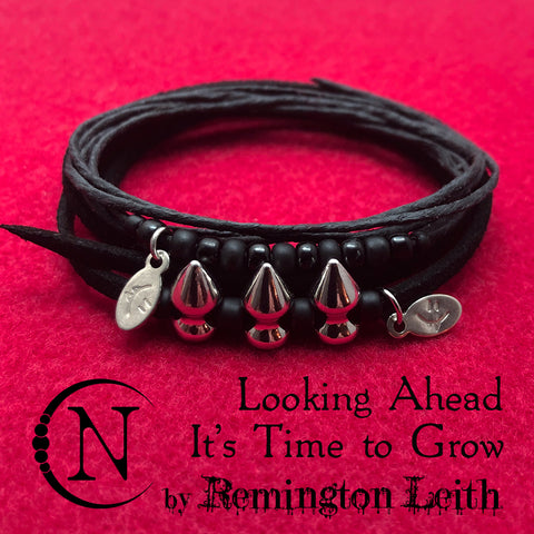Looking Ahead, It's Time to Grow NTIO Bracelet/Choker Set by Remington Leith