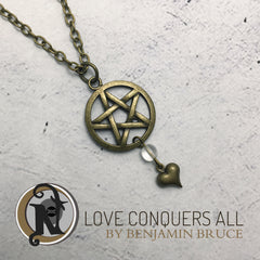 Necklace Love Conquers All by Ben Bruce