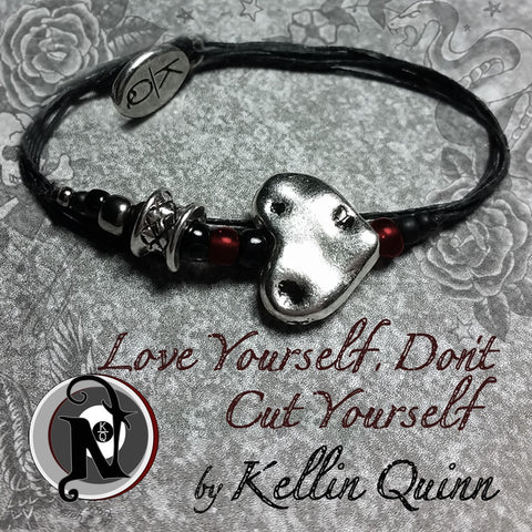 Love Yourself Don't Cut Yourself NTIO Bracelet by Kellin Quinn