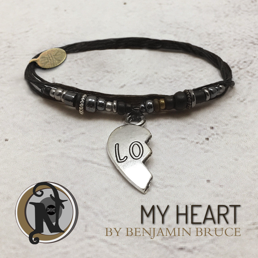 My Heart NTIO Bracelet By Ben Bruce