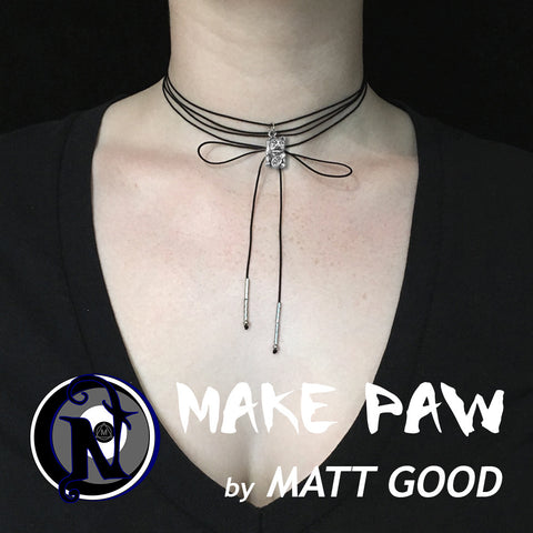 Silver Make Paw NTIO Choker by Matt Good